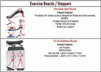 Exercise Boards & Steppers