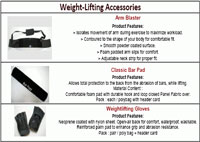 Weight-Lifting Accessories